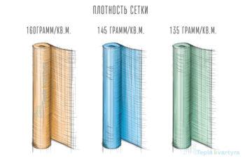 Плотность фасадной сетки